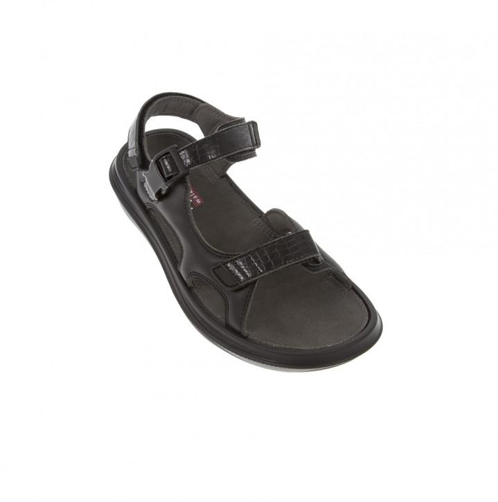 Baden Black W kybun Sandale Damen