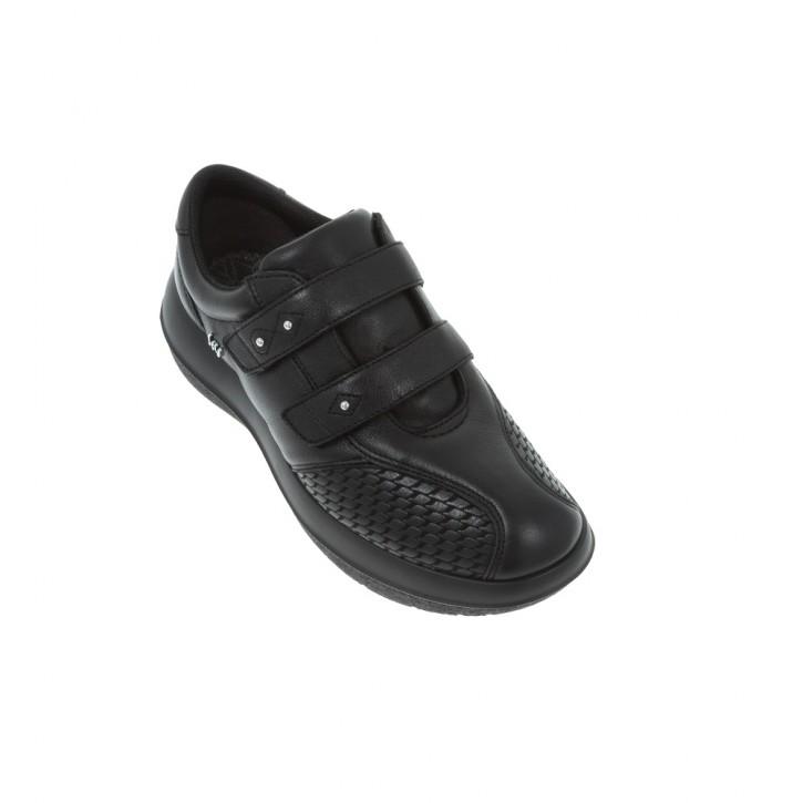 Leuk Black W kybun Schuhe Damen