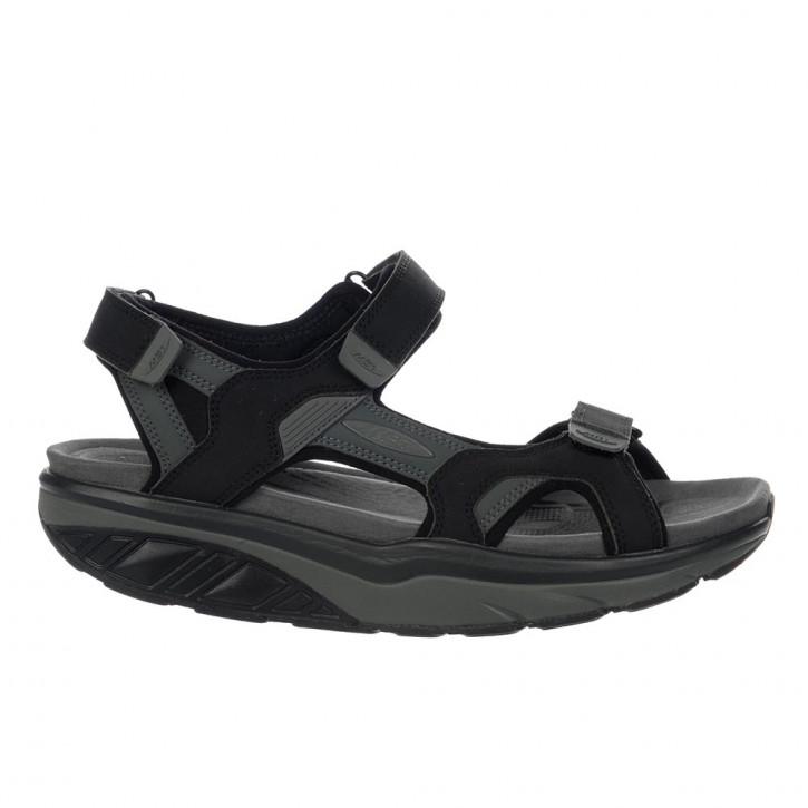 Saka 6s Sport Sandal black/charcoal grey 46 MBT Sandalen